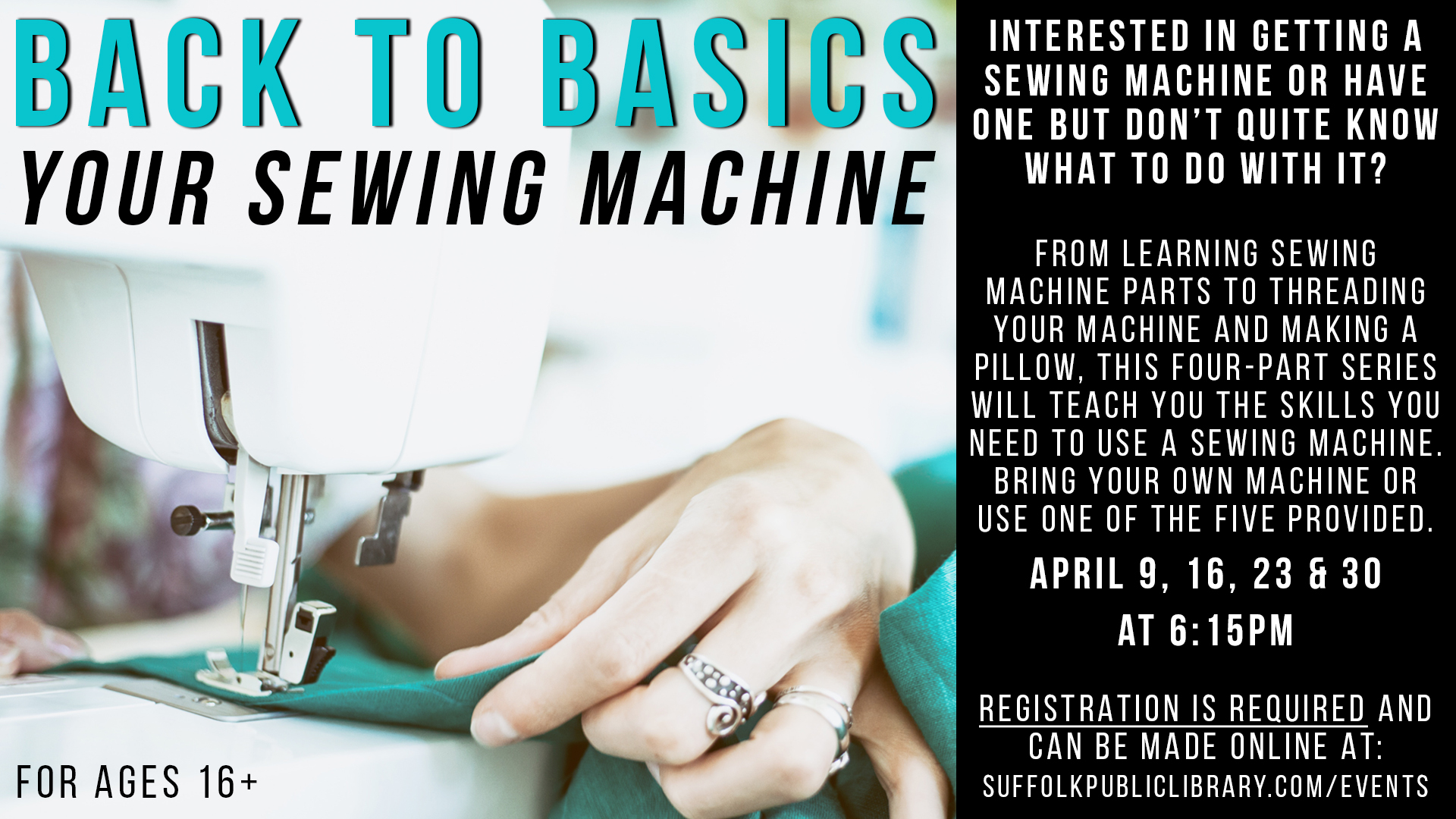 Back to Basics--Your Sewing Machine