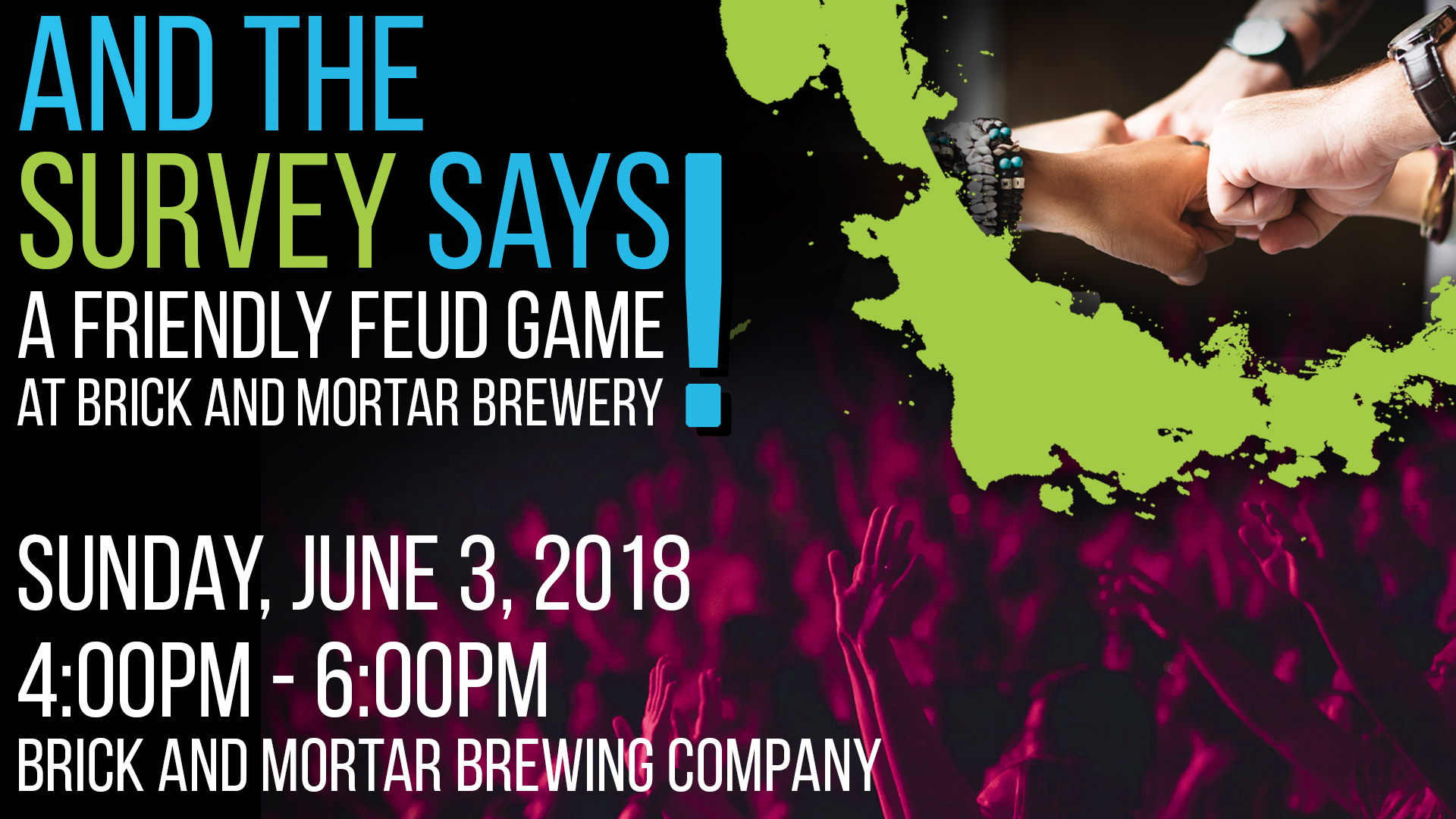 And the Survey Says! A Friendly Feud Game at Brick and Mortar Brewery