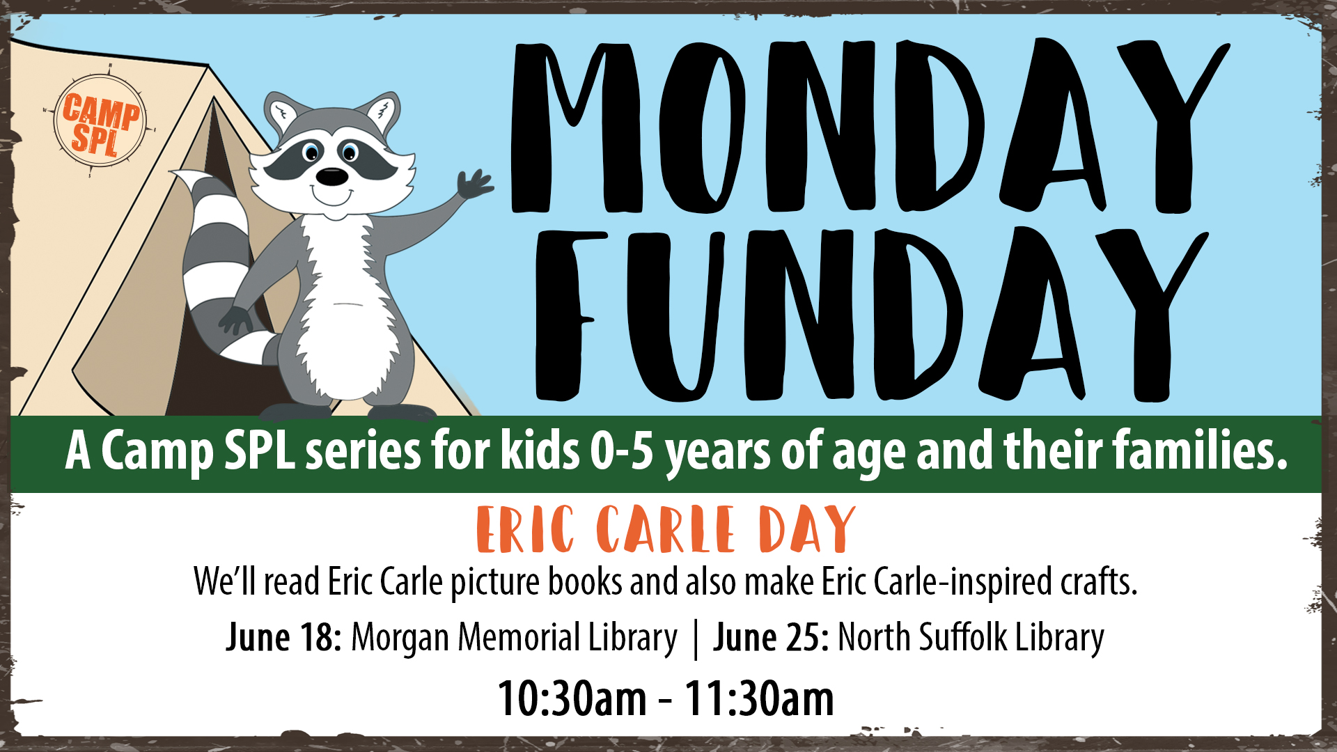 Camp Monday Funday: Eric Carle Day