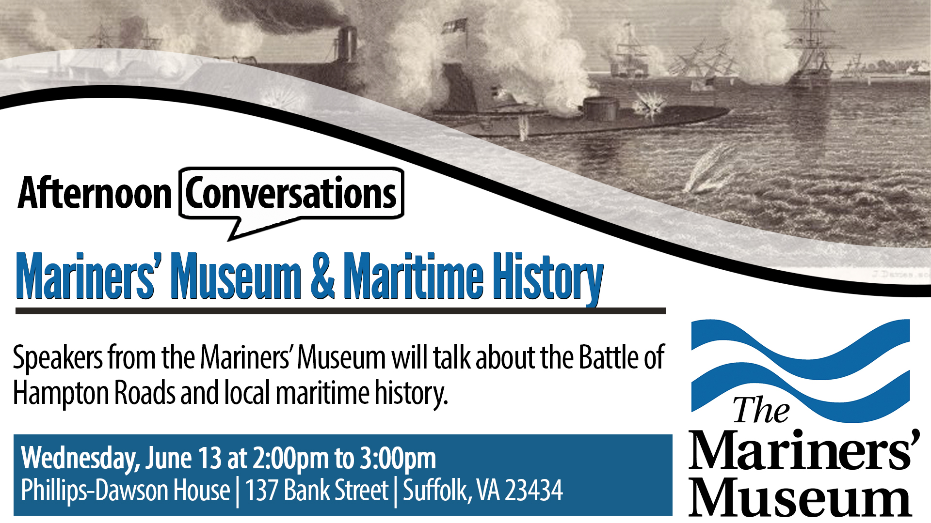 Afternoon Conversations: Mariners' Museum