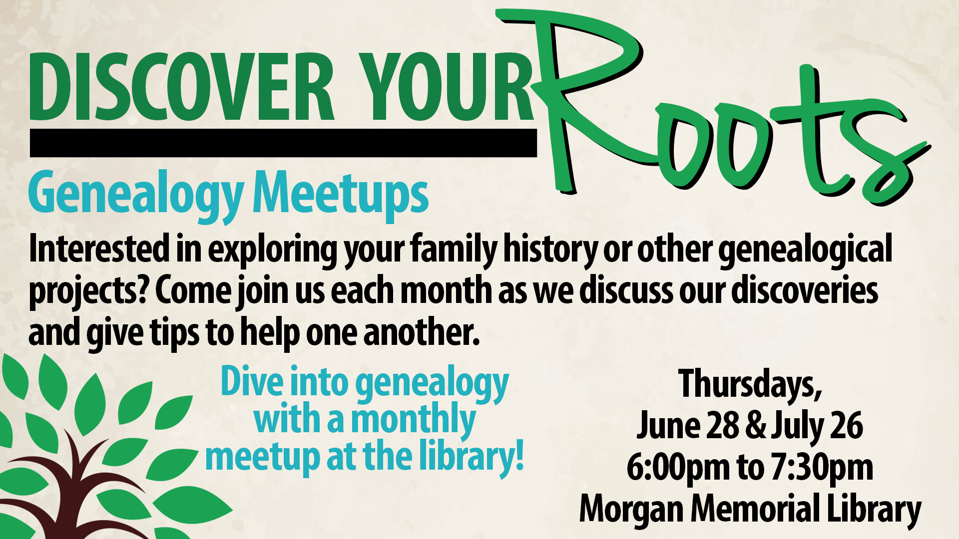 Genealogy Meetup
