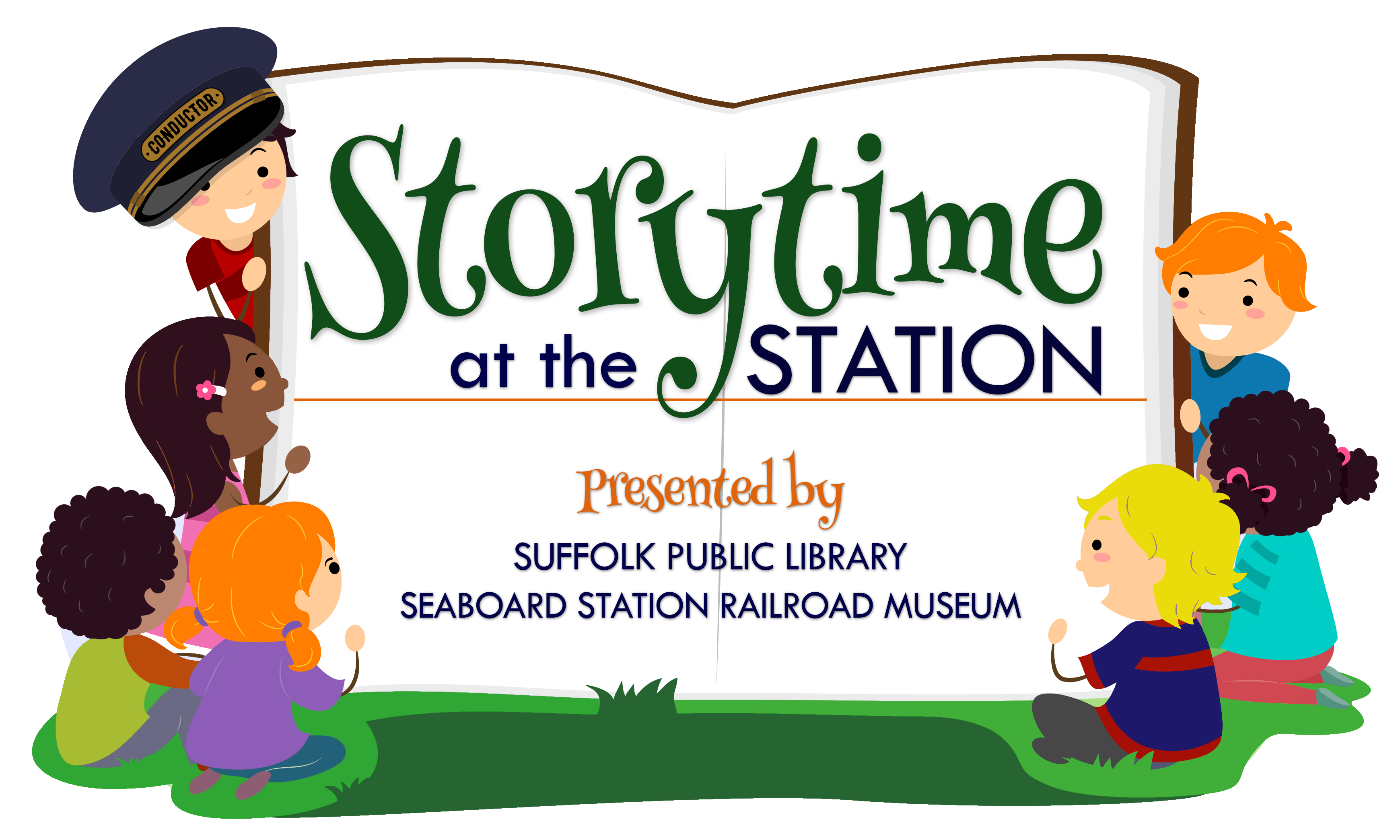 Storytime at the Train Station