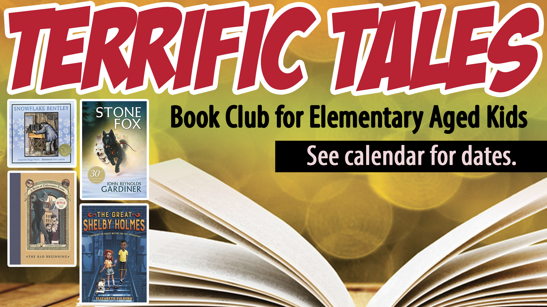 Terrific Tales Book Club