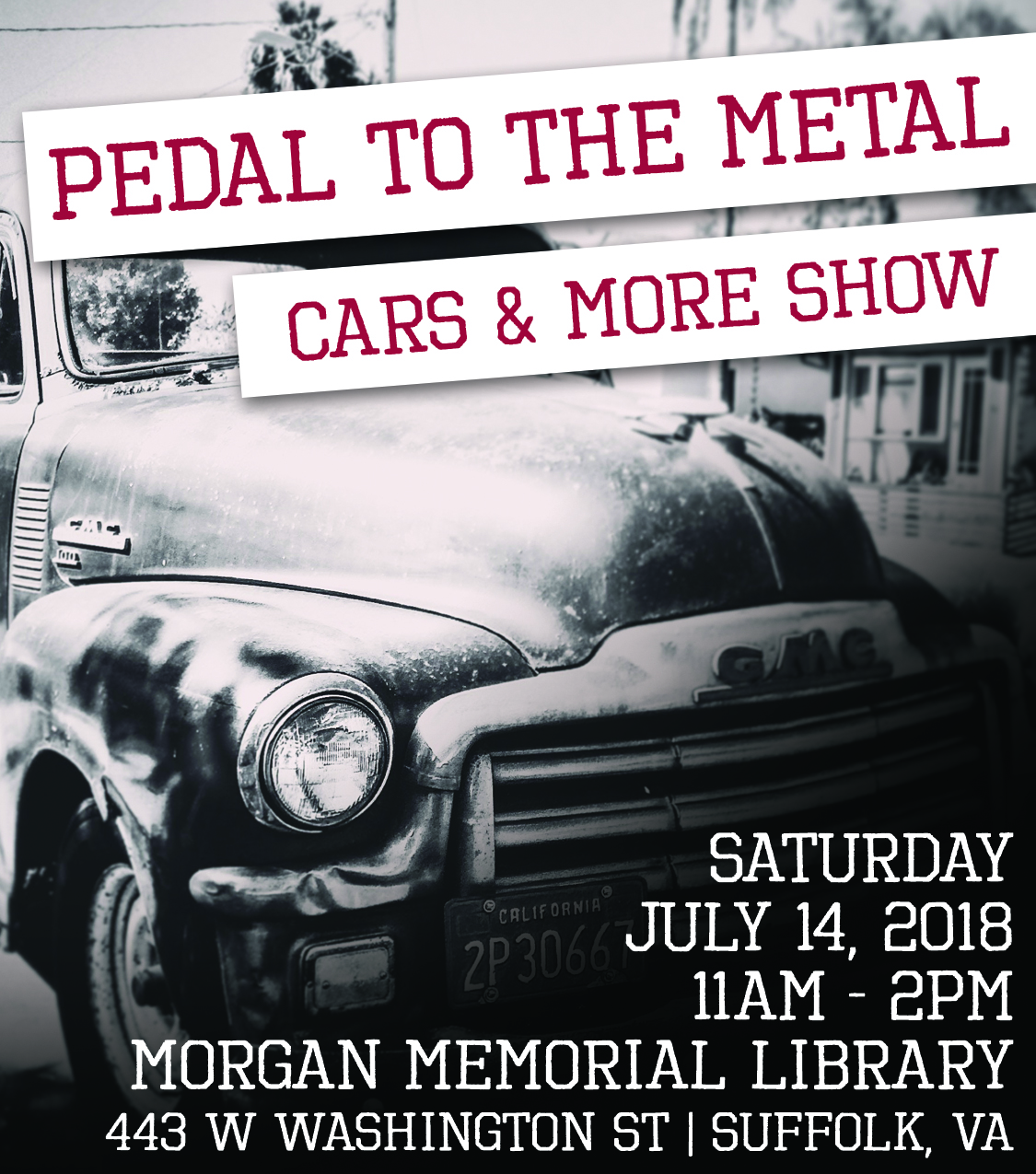 Pedal to the Metal Cars & More Show