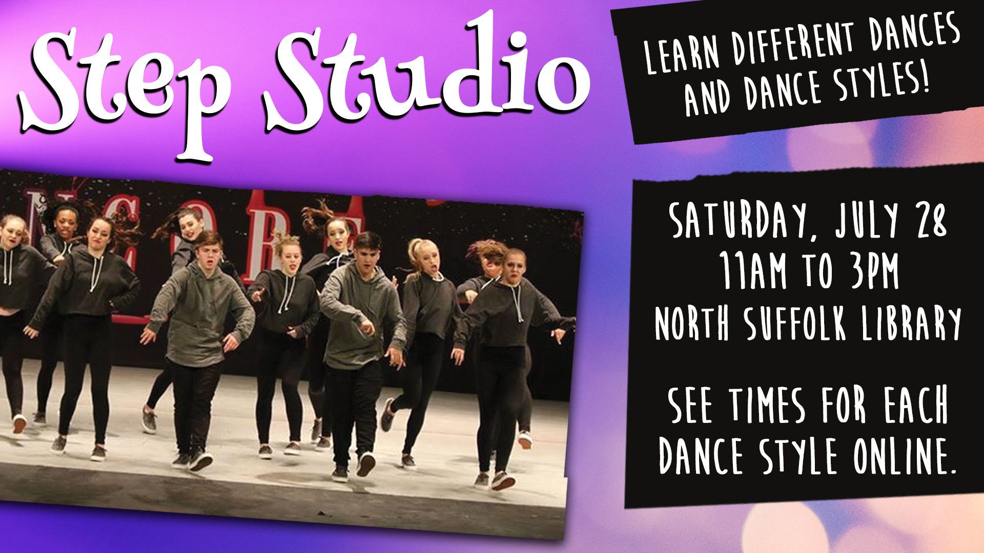 Day of Dance:  Step Studio