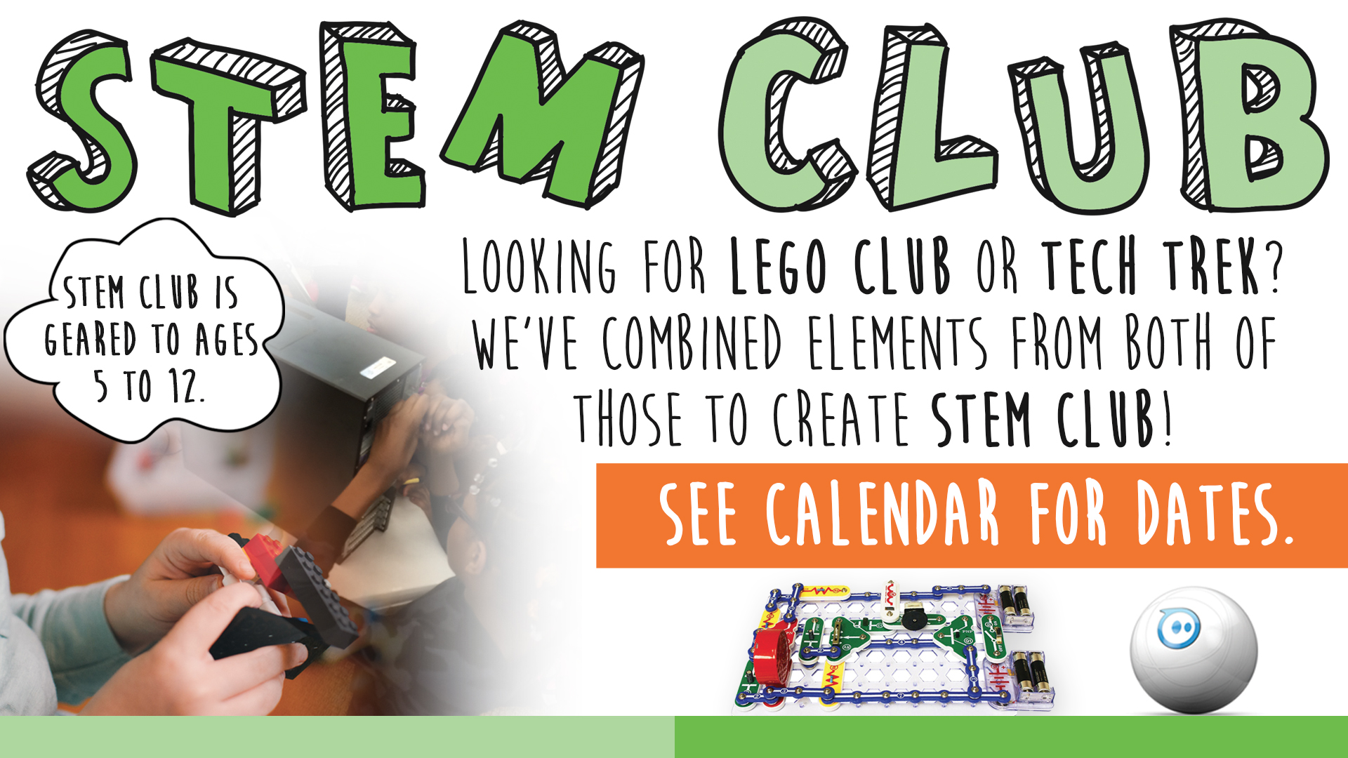 STEM Club:  LEGOs & More Building Free Play