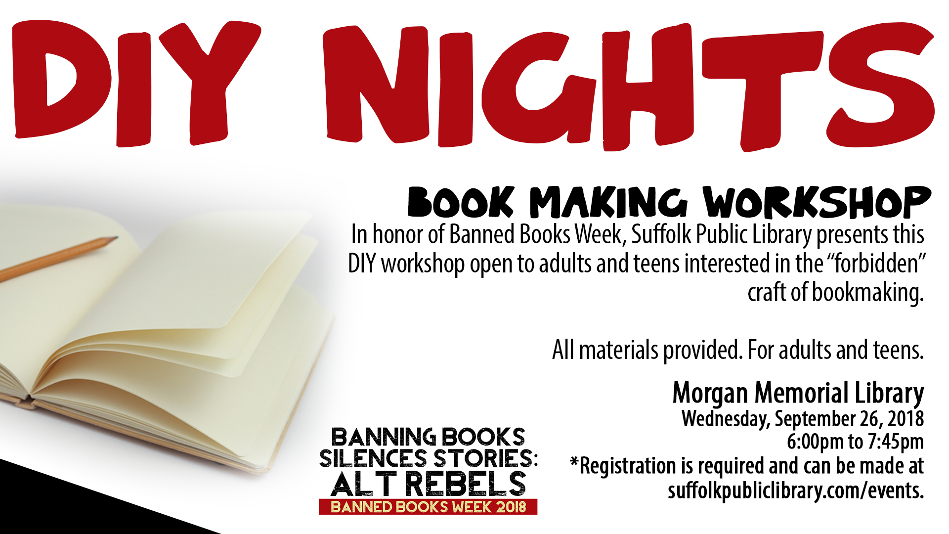 Anarchy in the Stacks: DIY Book Making Workshop