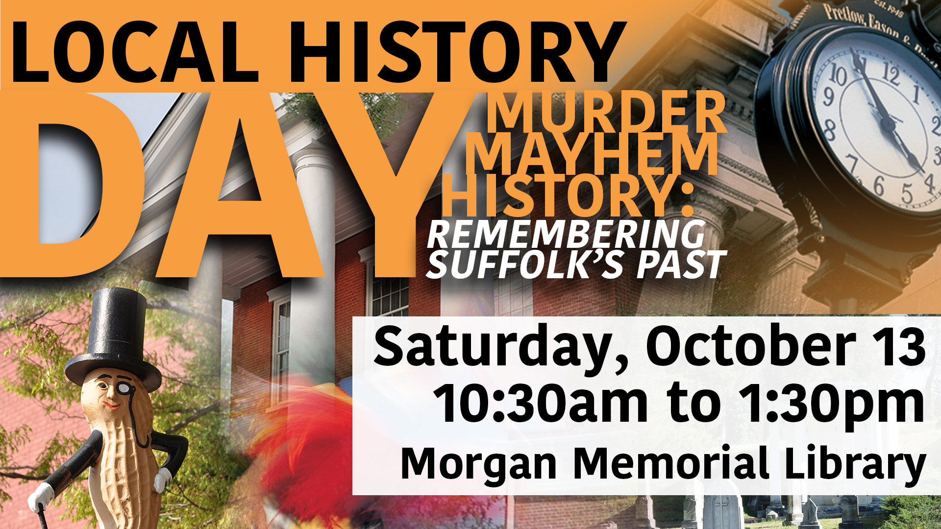 Murder, Mayhem, History....Remembering Suffolk's Past