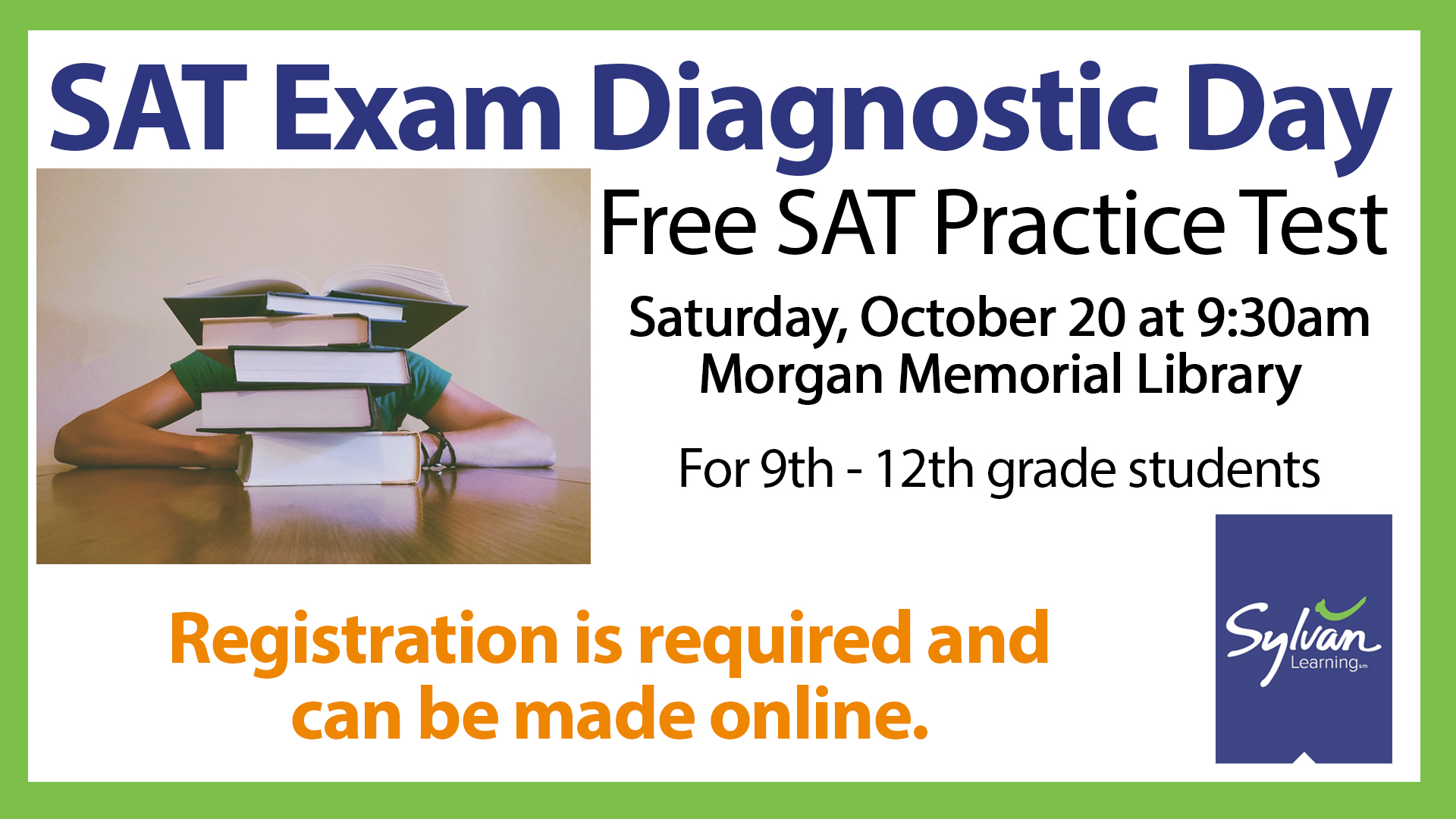 Suffolk Public Library SAT Exam Diagnostic Day