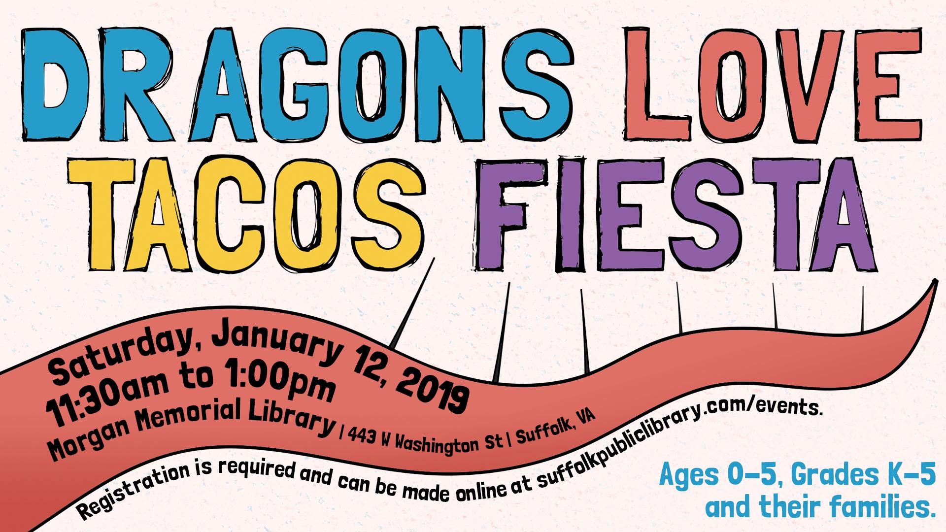 Dragon's Love Tacos Fiesta Storytime