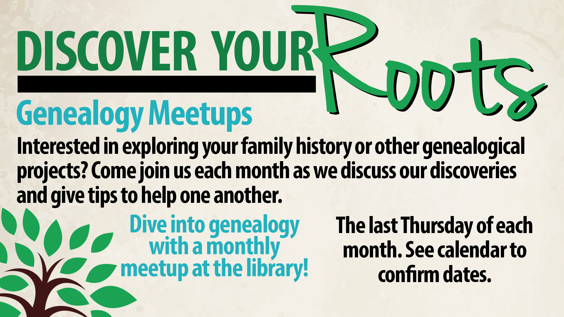 Genealogy Meetup: Vital Records
