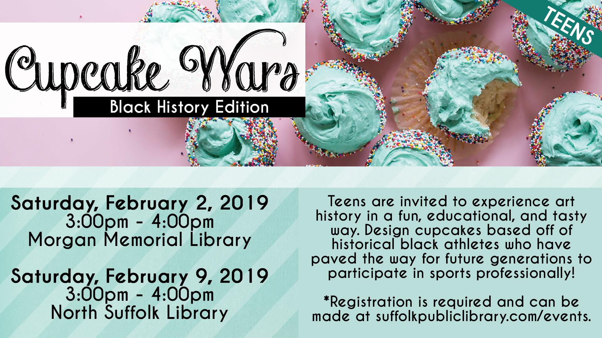 Black History Cupcake Wars