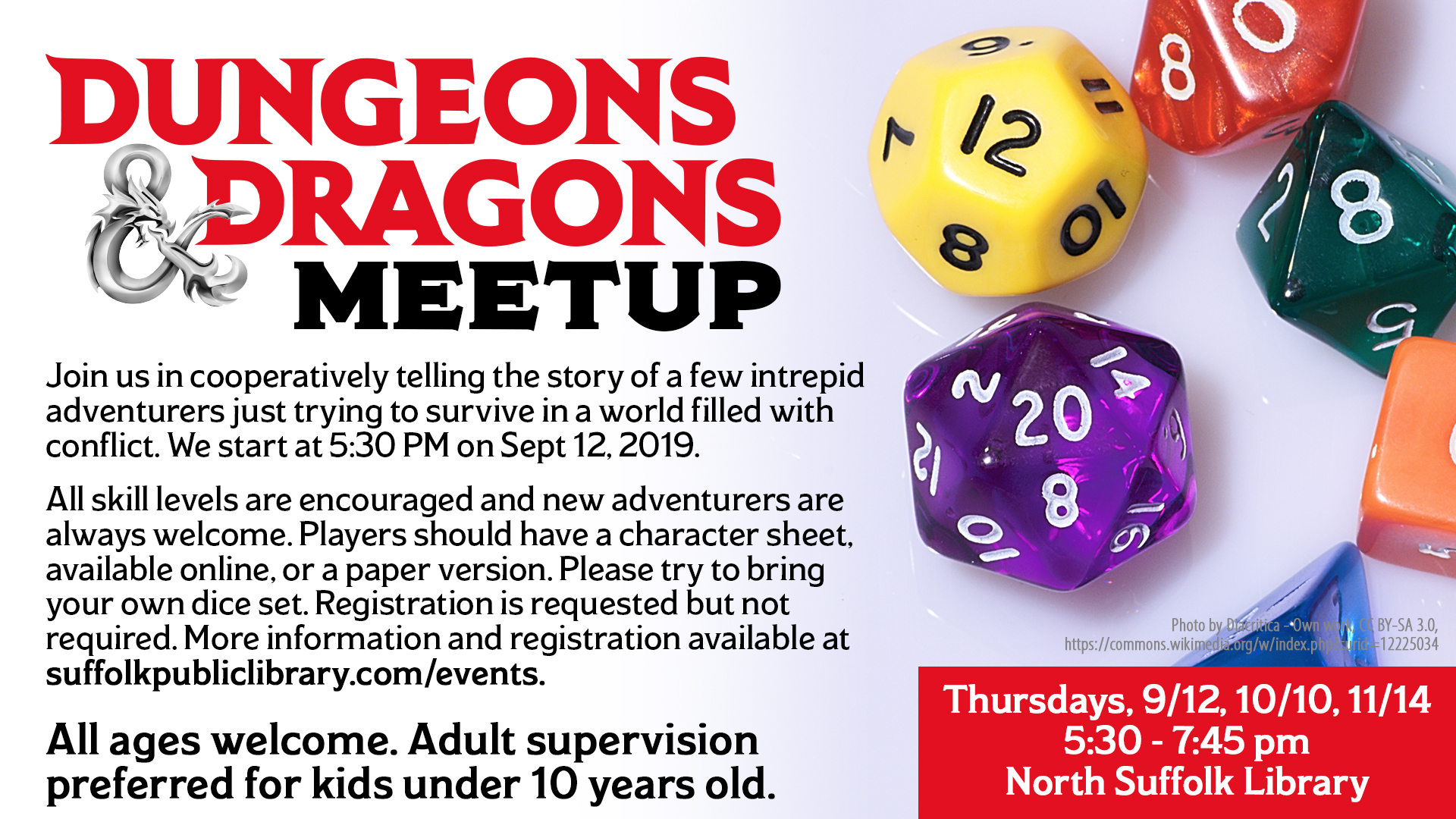 Dungeons & Dragons Meet-up