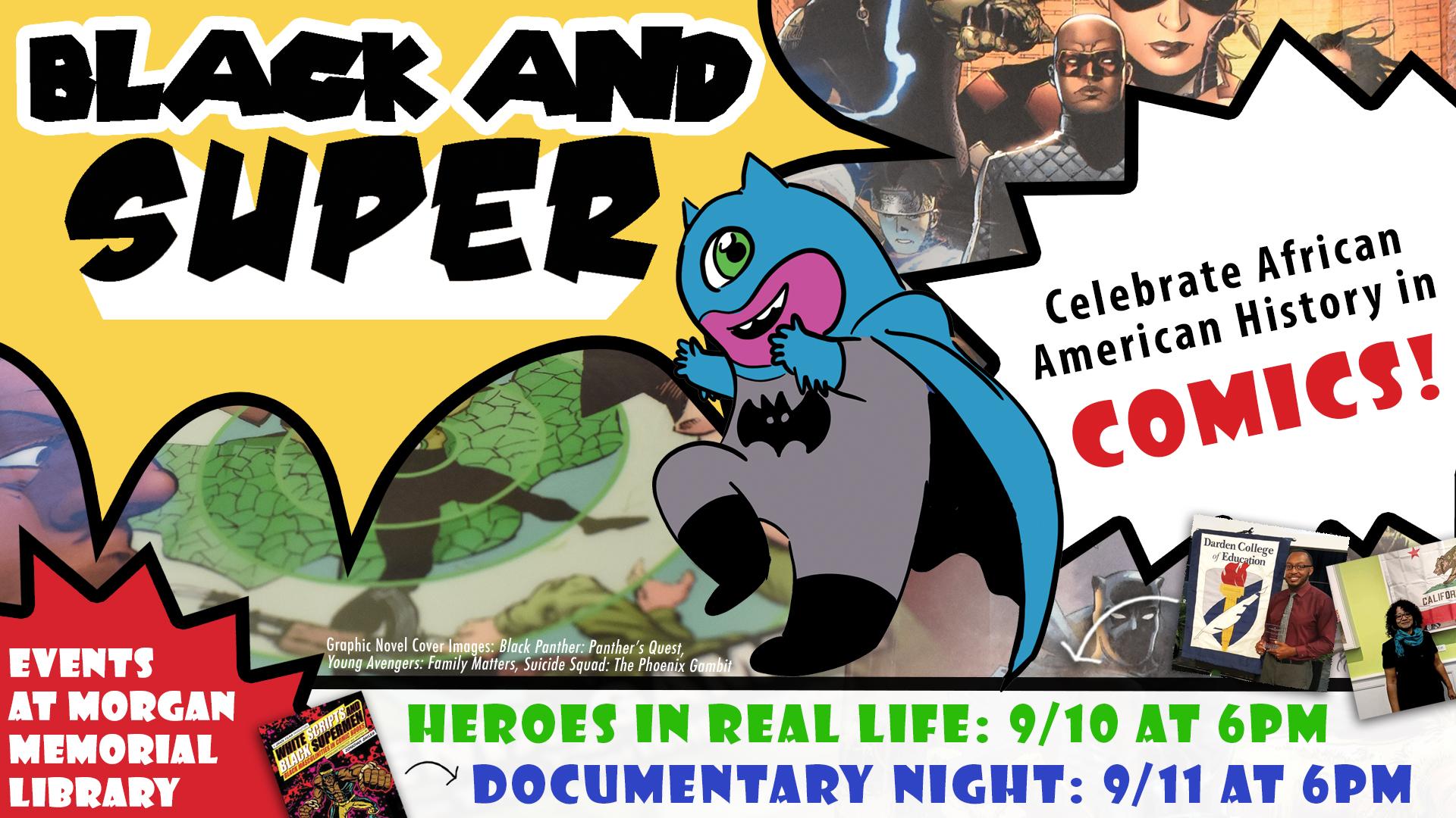 Black & Super: Documentary night