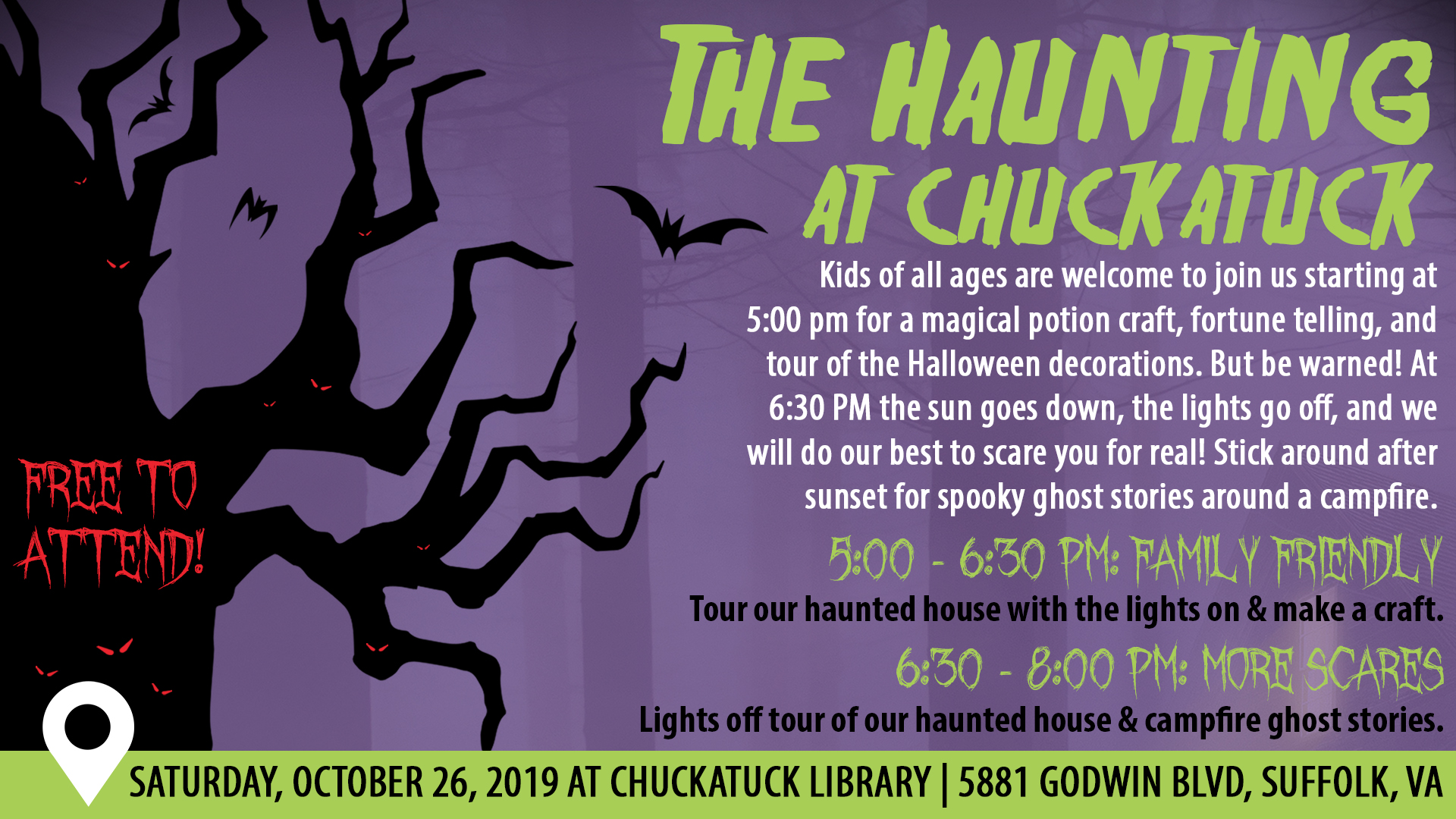 The Haunting at Chuckatuck