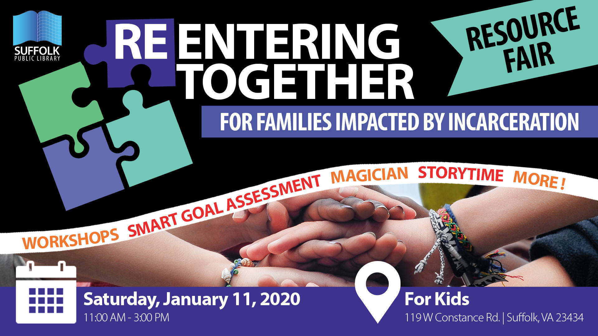 Reentering Together: A Resource Fair for Families Impacted By Incarceration