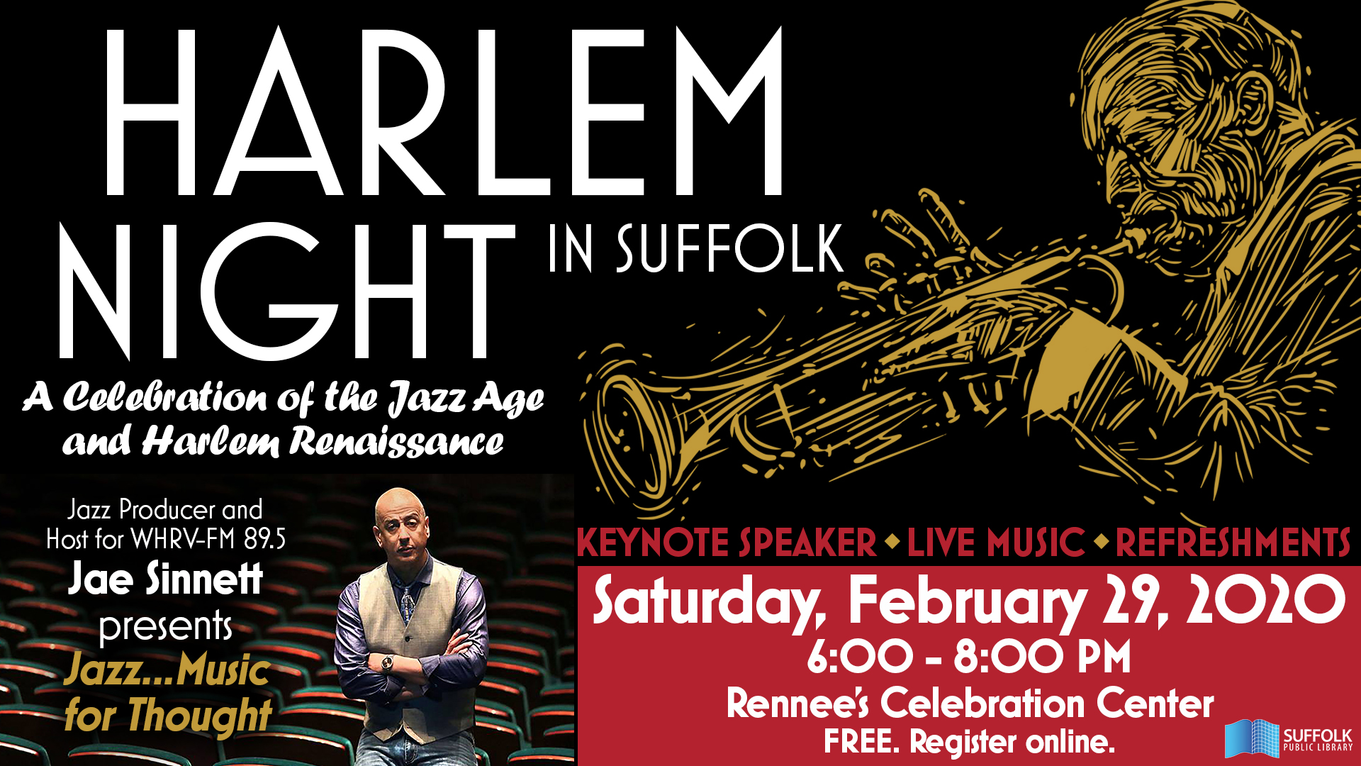 Harlem Night in Suffolk: A Celebration of the Jazz Age and Harlem Renaissance