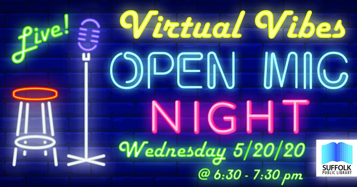 Virtual Vibes Open Mic [LIVE]