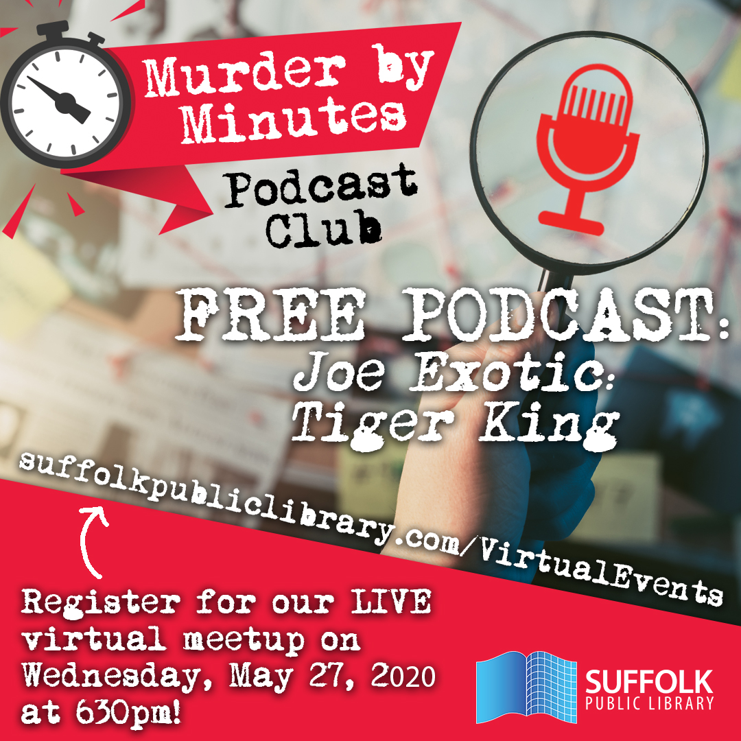 Murder By Minutes Podcast Club [LIVE]