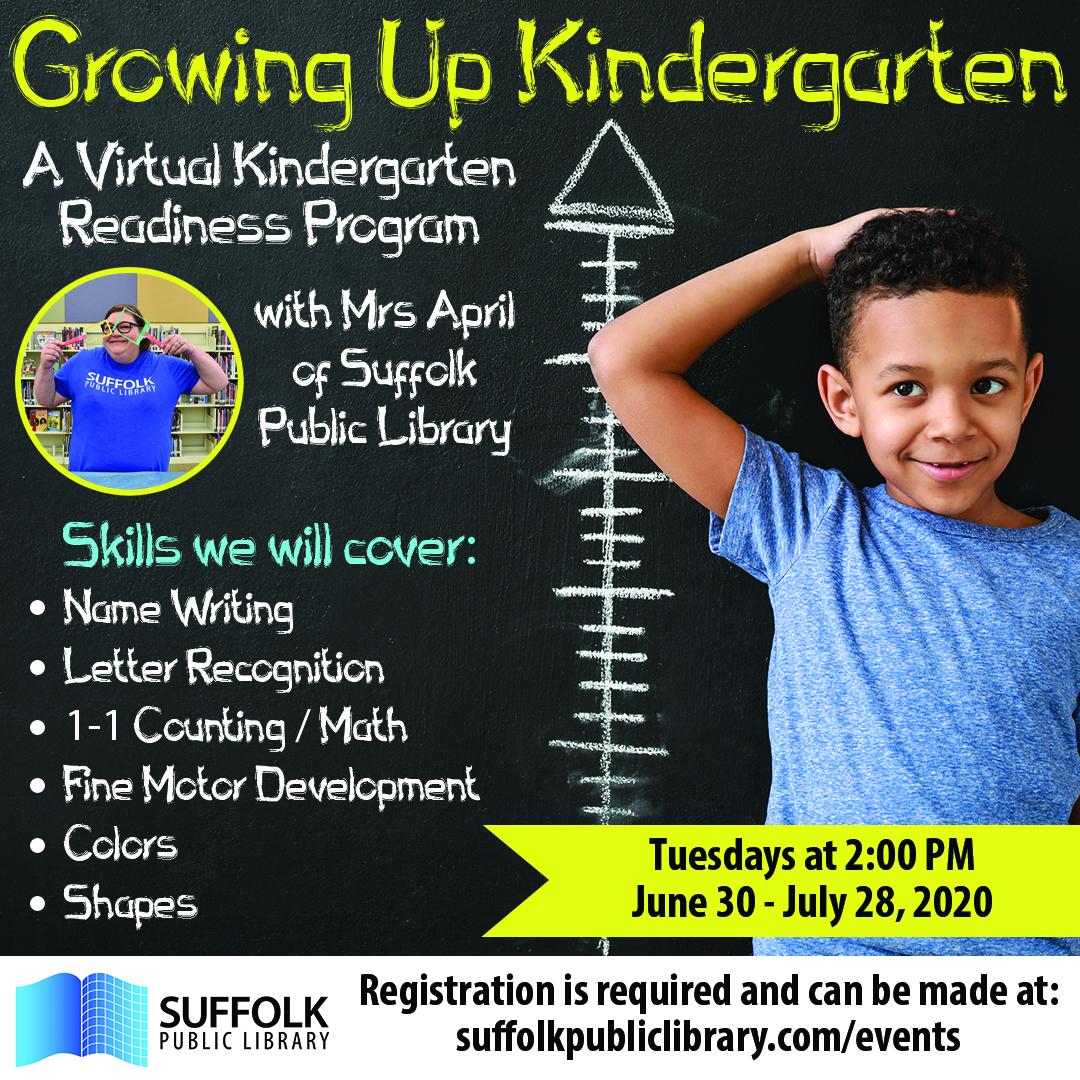 Growing Up Kindergarten [LIVE + KIT]
