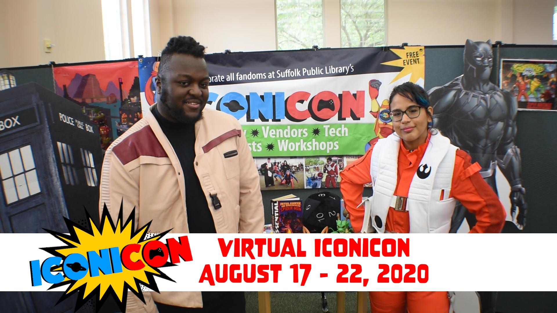 iConiCon 7 Minute Fandom Topics [VIRTUAL]