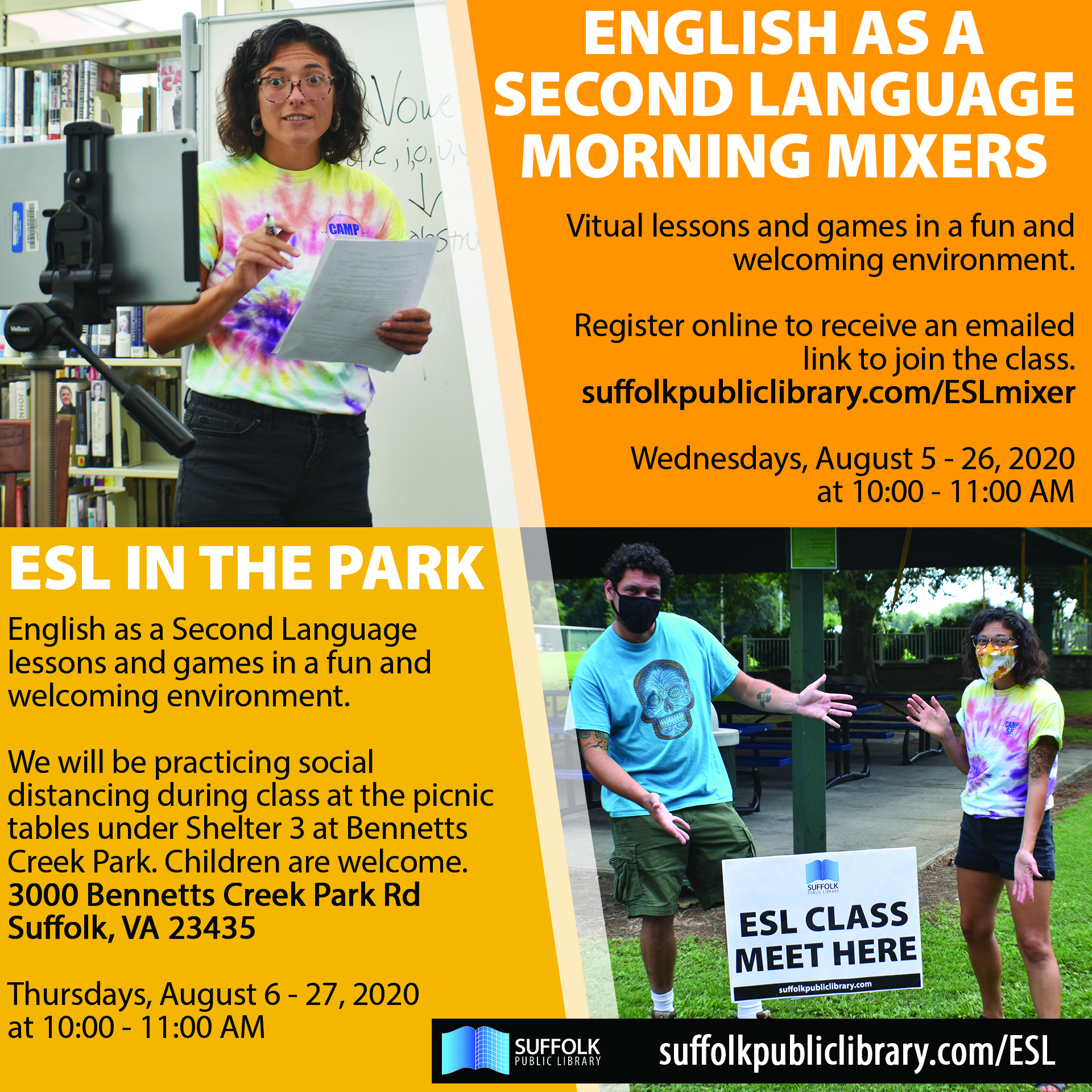 English as a Second Language Morning Mixers [LIVE]