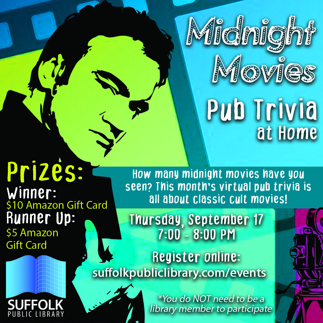 Pub Trivia at Home: Midnight Movies [LIVE]