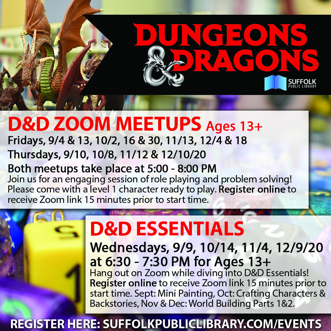 Dungeons & Dragons Zoom Meetup [LIVE]