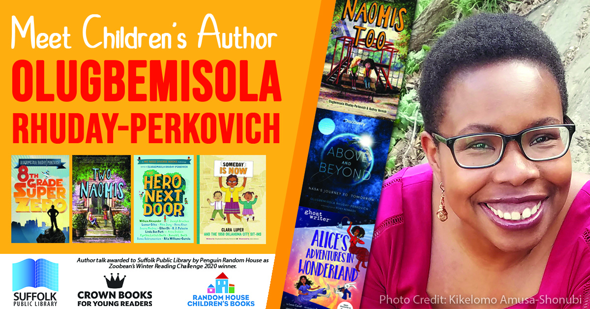 Meet Children's Author Olugbemisola Rhuday-Perkovich [VIRTUAL]