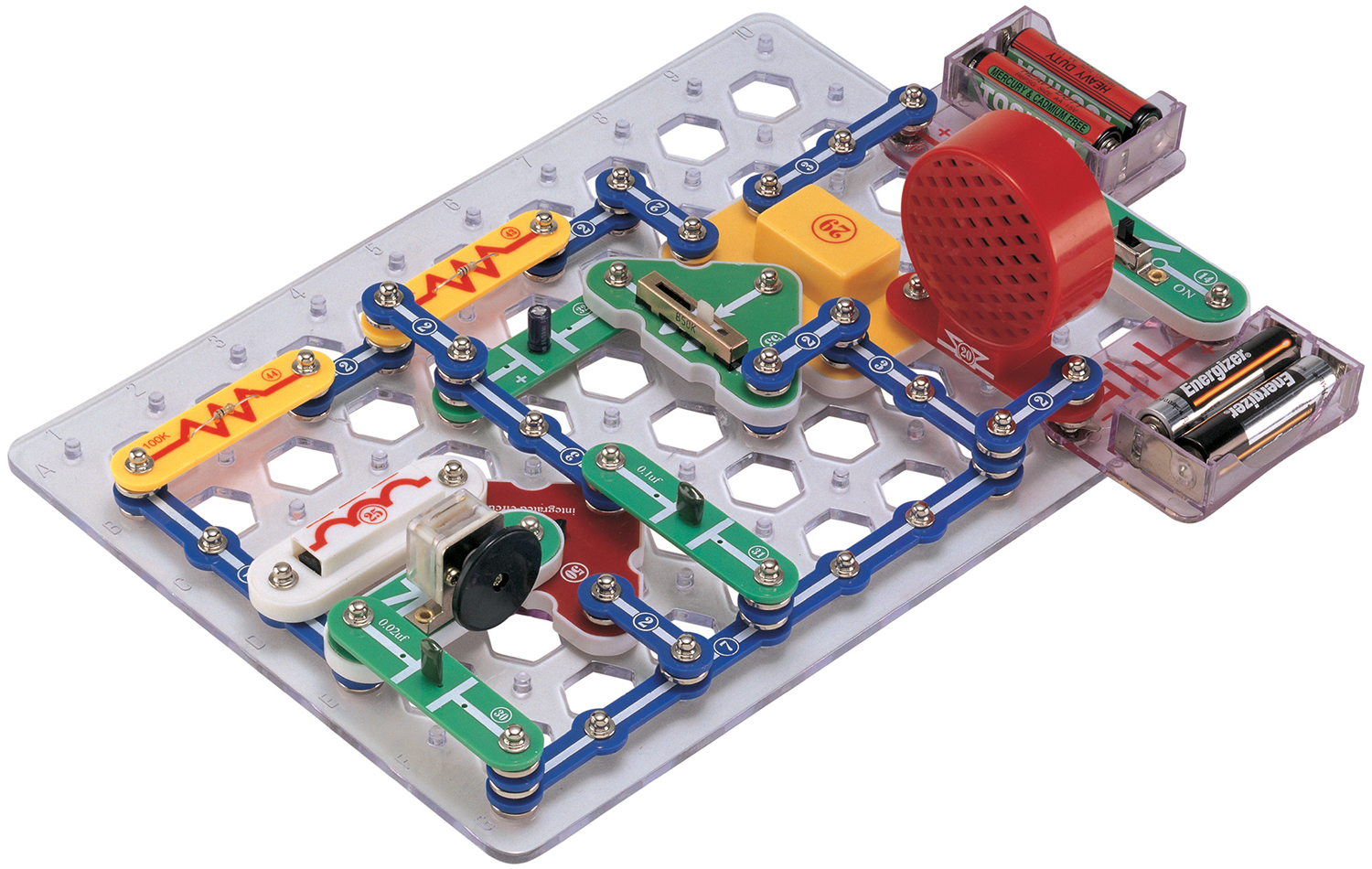 Electricity Sizzles with SNAP Circuits