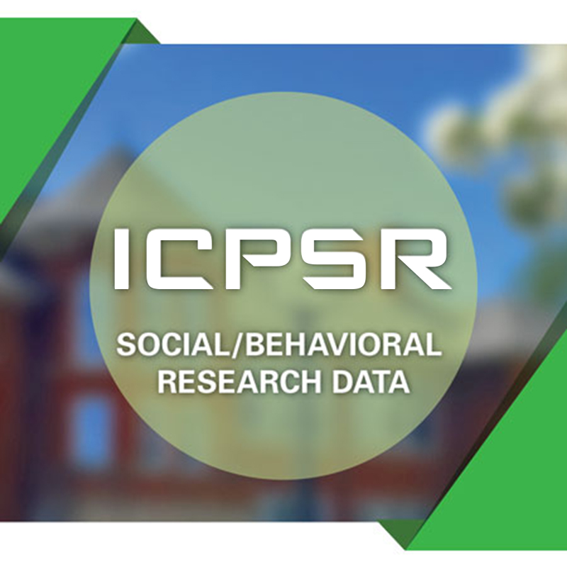ICPSR Political and Social Research Data and Membership Benefits