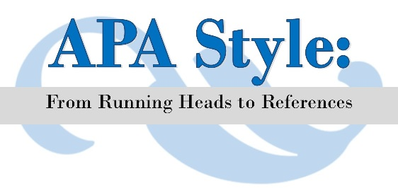 CANCELLED: APA Style Workshop