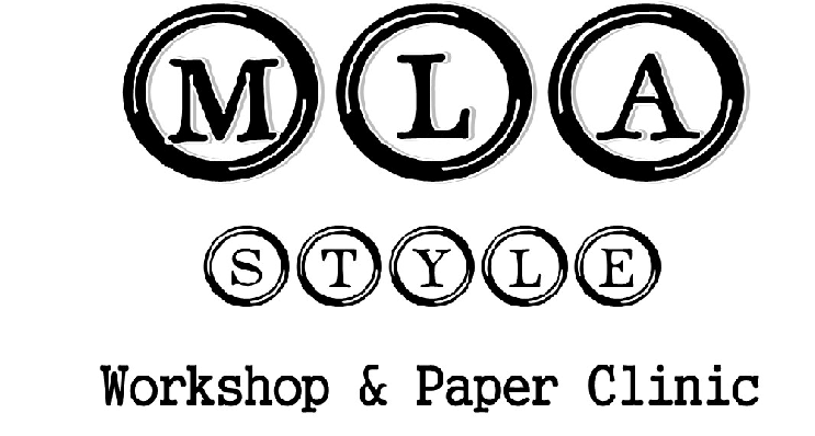 CANCELED: MLA Style Workshop