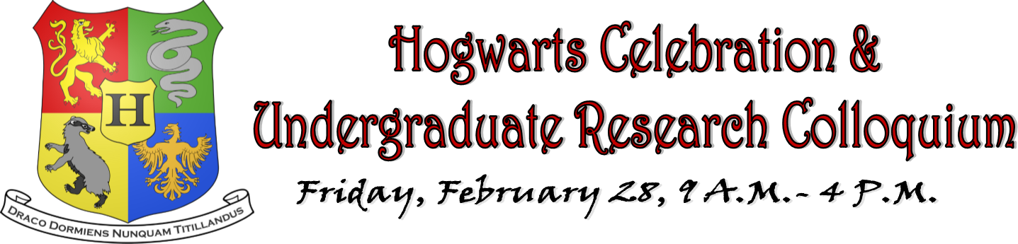 Hogwarts Celebration and Undergraduate Research Colloquium