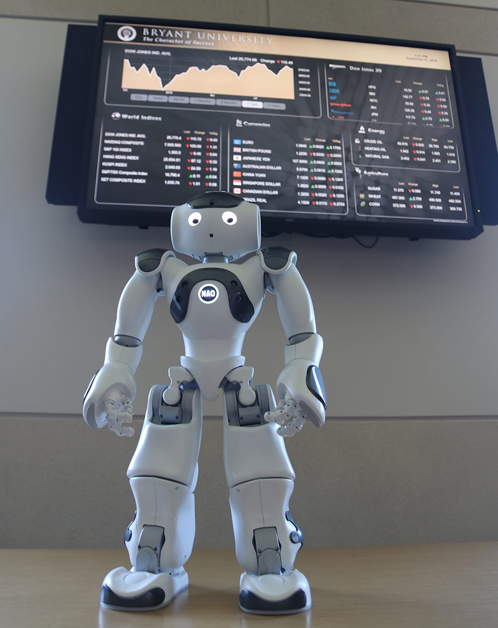 TEA TALKS Bryant: A Conversation with NAO the Robot