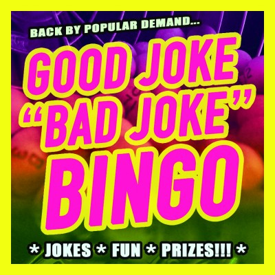 Good Joke/Bad Joke Bingo (ticketed event -- part of Fringe Festival @ Central Library)