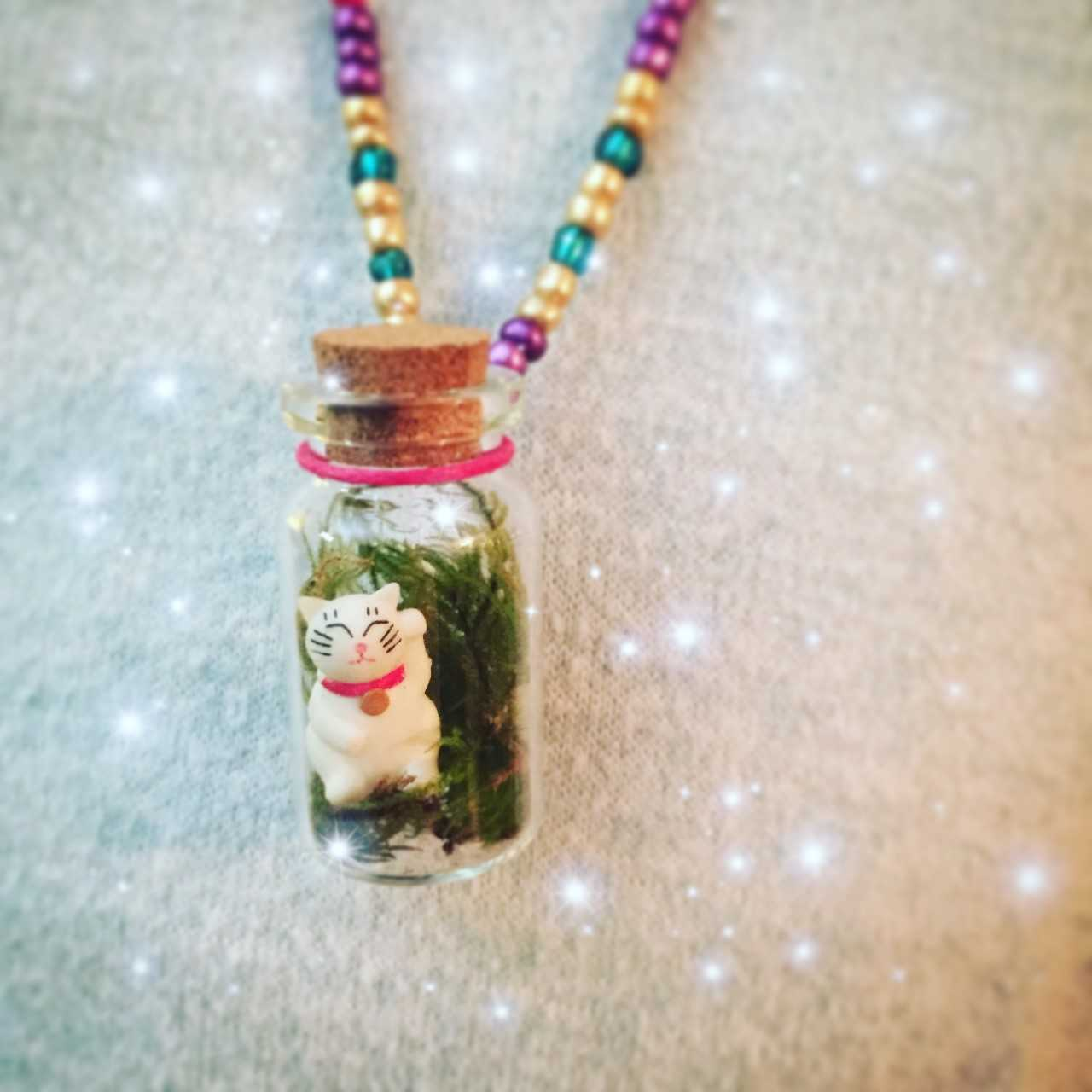 Make a Cute Terrarium Necklace
