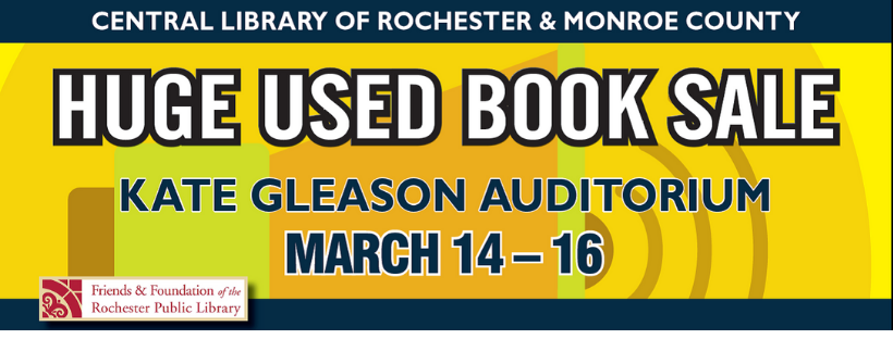 HUGE Used Book Sale -- PREVIEW SALE ($5 admission/FFRPL donors admitted for free)