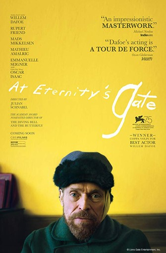 "First Friday Films: ""At Eternity's Gate"""