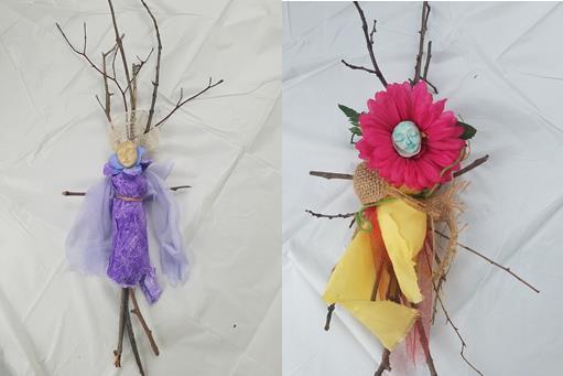Create a Rustic Spring Wisdom Ornament