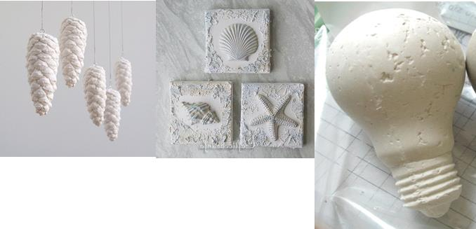 Create a Piece of Sculpture with Sand and Plaster