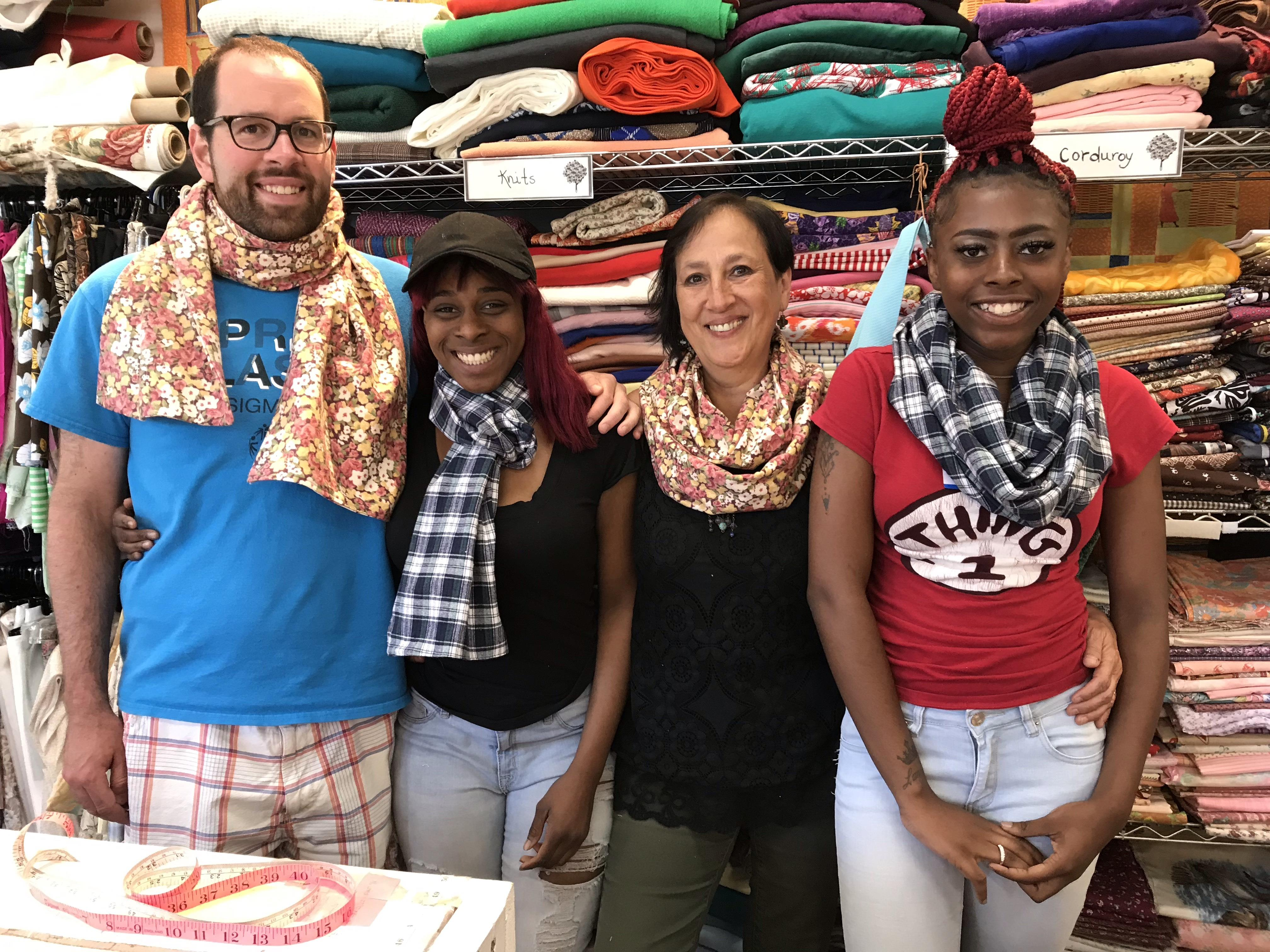 Craft it Forward: Scarves for Crafting Democracy