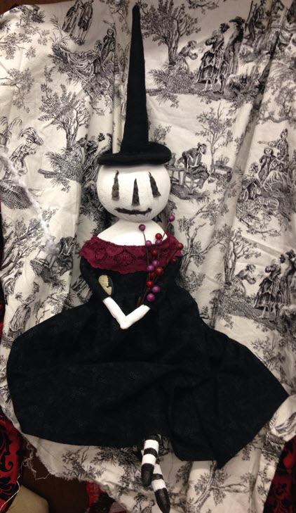 Sew a Primitive Halloween Doll