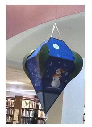 Call for Artists: Create a large ornament to display at the Central Library