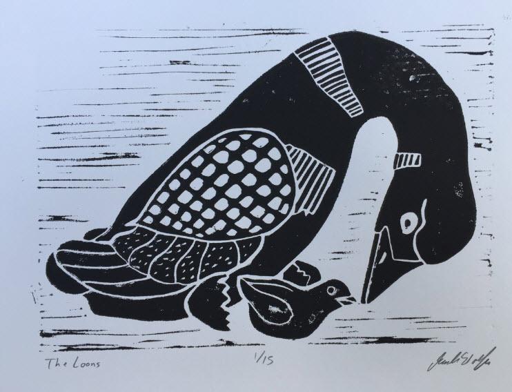 Learn the Art of Linoleum Cutting