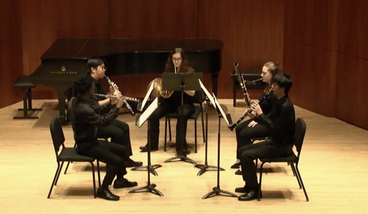 Eastman to Go Concert: Wonderful Woodwinds Quintet