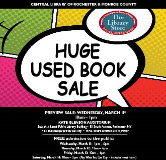 HUGE Used Book Sale