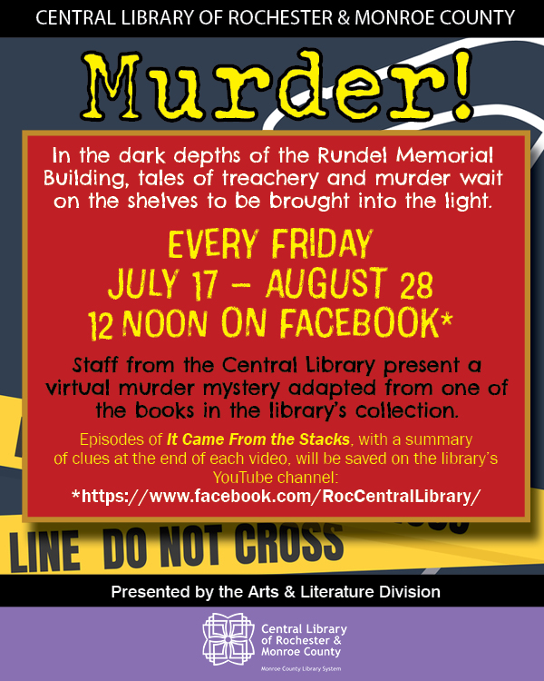 Murder Mystery: It Came From the Stacks