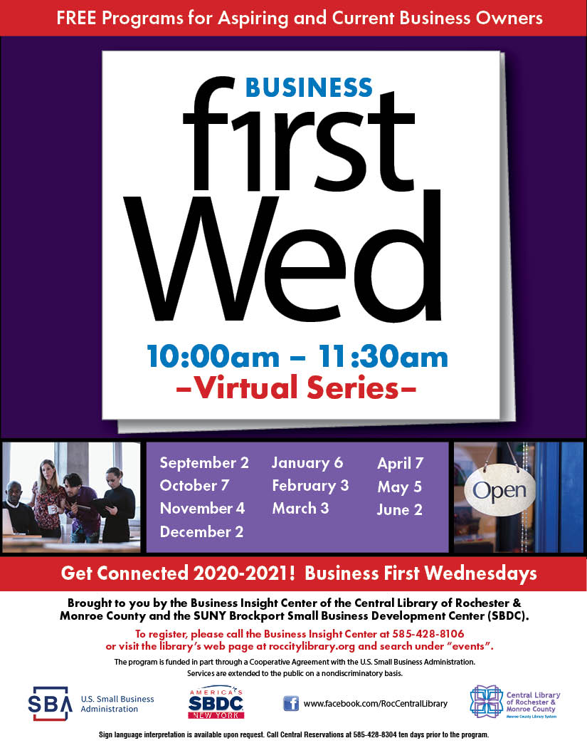 Business First Wednesday
