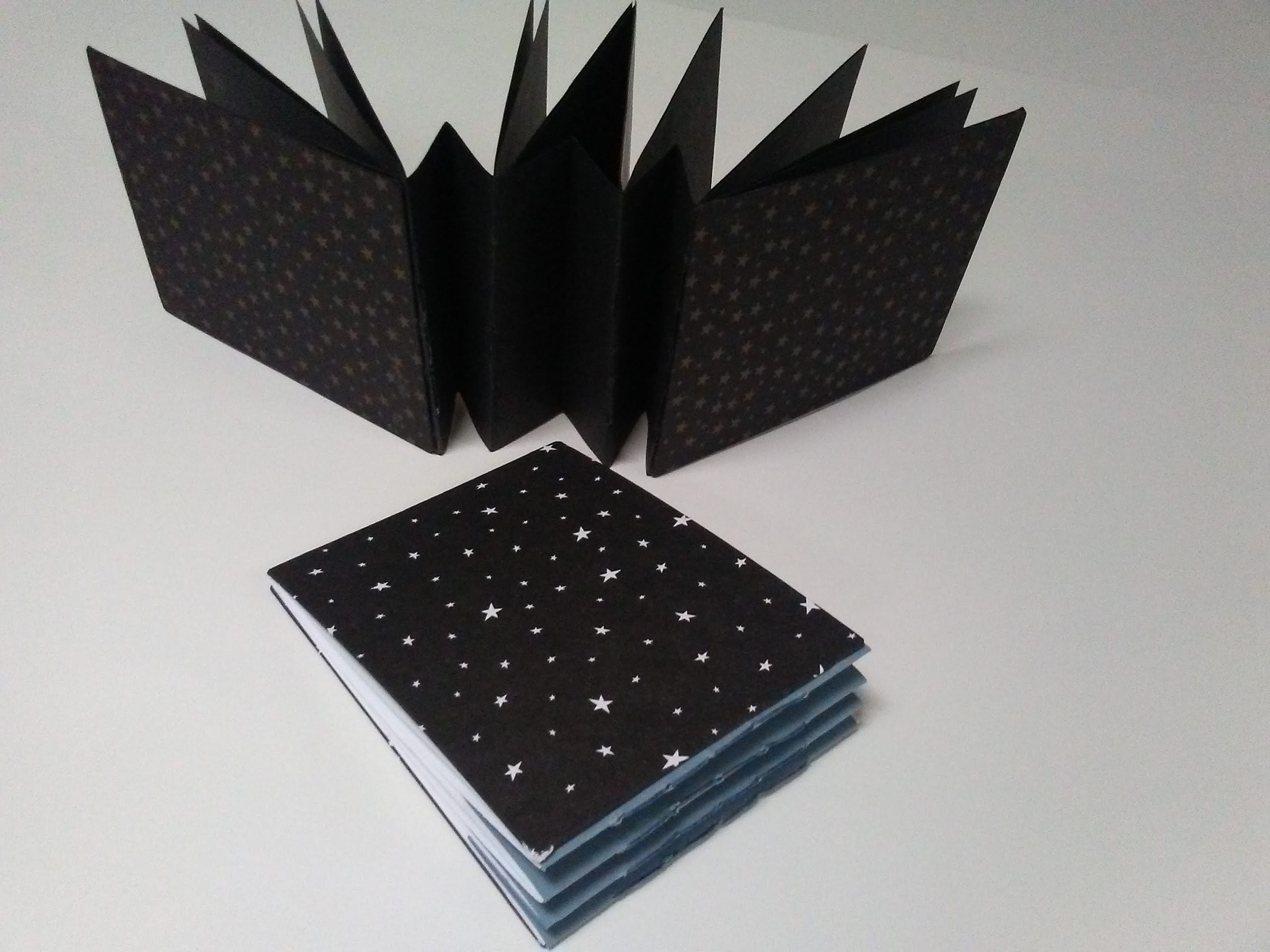 Concertina Book Binding